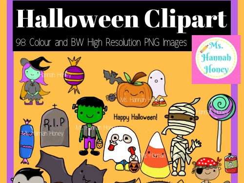 Halloween Clipart Holiday Cute