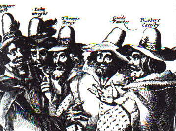 Card Sort: Chronology of the Gunpowder Plot, 1605