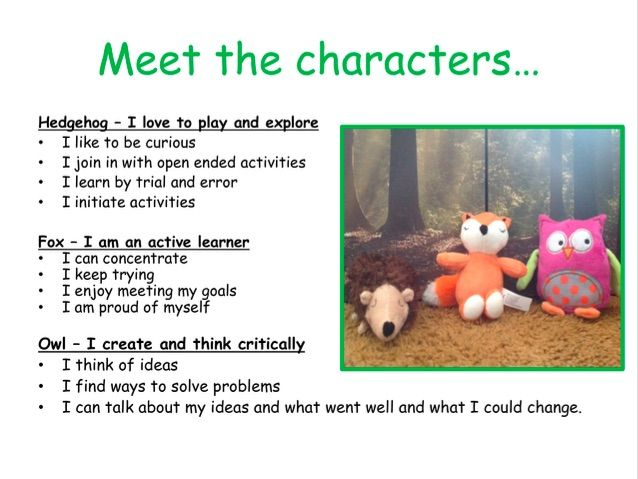 Characteristics of Effective Learning - The Animals of Wisdom Woods