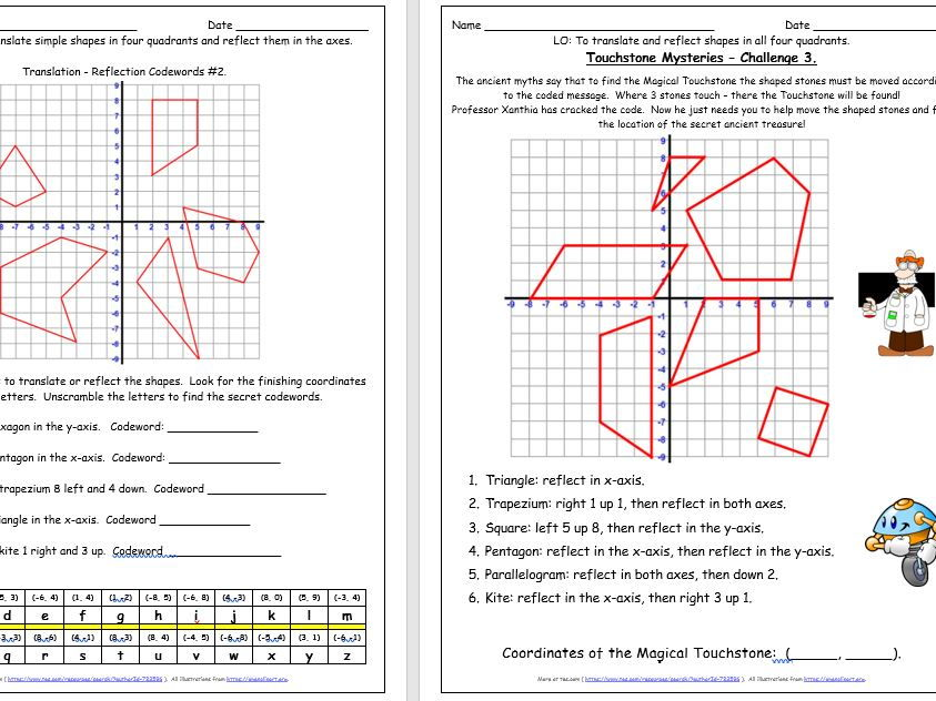 Geometry Position And Direction Y6 Free Taster 11763387 on High School Geometry Lessons