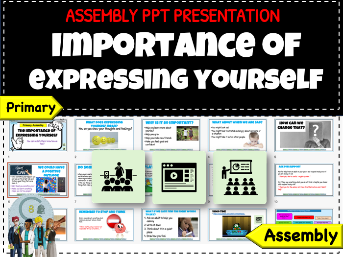 Assembly - Importance of Expressing yourself - Recovery Curriculum