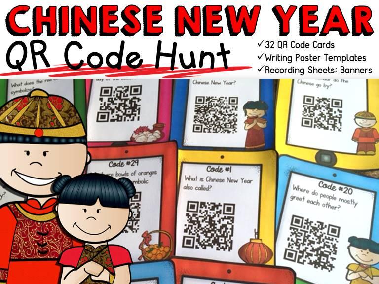 Chinese New Year  QR Code Hunt