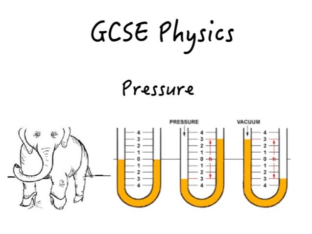 GCSE Pressure Booklet