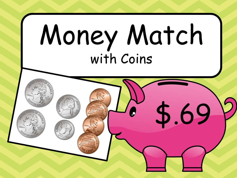 Money Match with Coins (US)