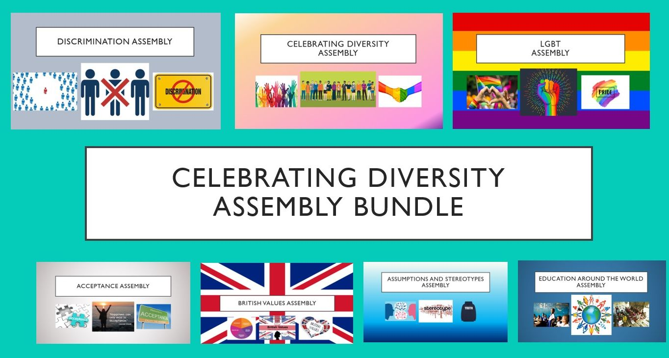 Celebrating Diversity Assembly Bundle