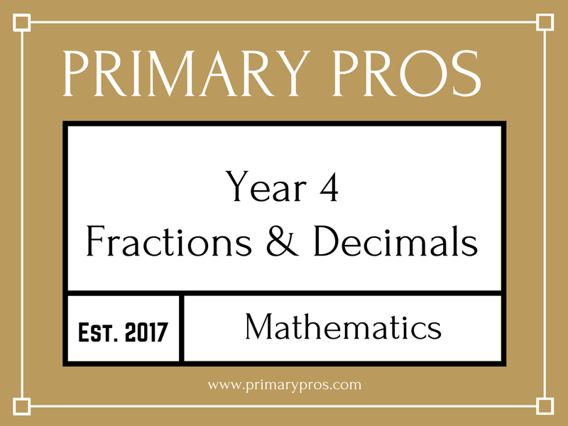 Year 4 Maths - Fractions and Decimals