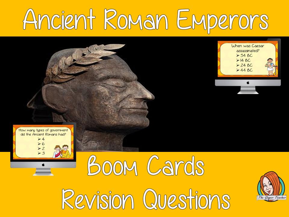 Ancient Roman Emperors Revision Questions