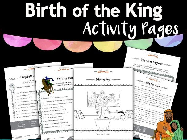 Birth of The King Activity Pack FREEBIE