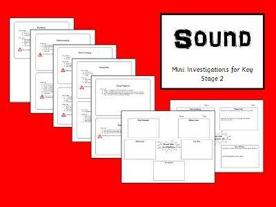 Sound Science Mini Investigations