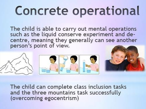 Piaget's Cognitive Development Theory PowerPoint and comprehension activity