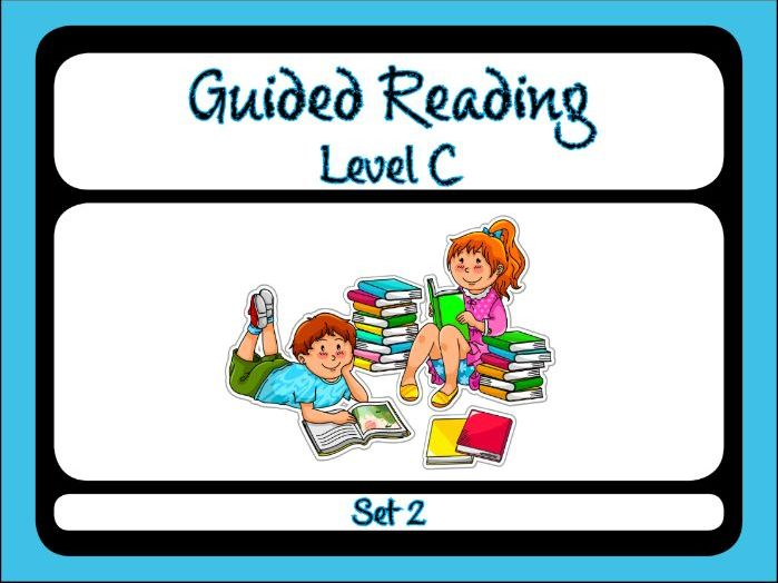 Guided Reading Level C Set 2