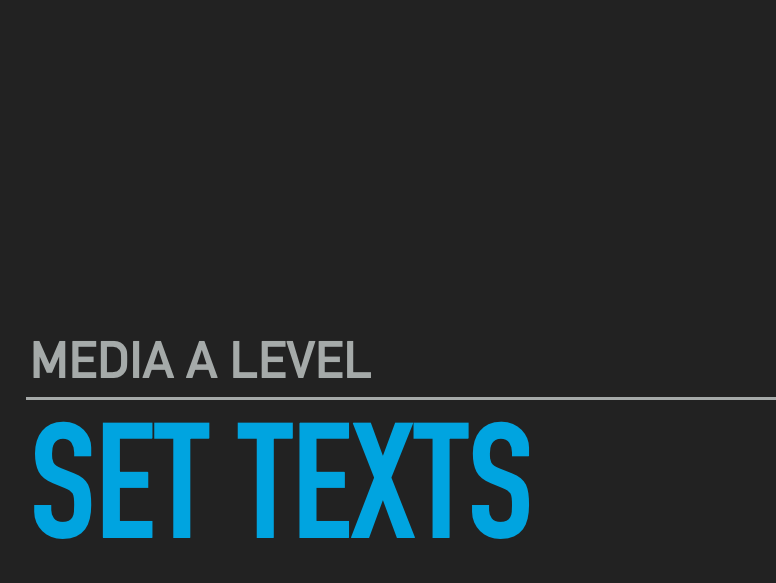 Media A/AS level FULL COURSE  flashcards revision notes powerpoint / keynote