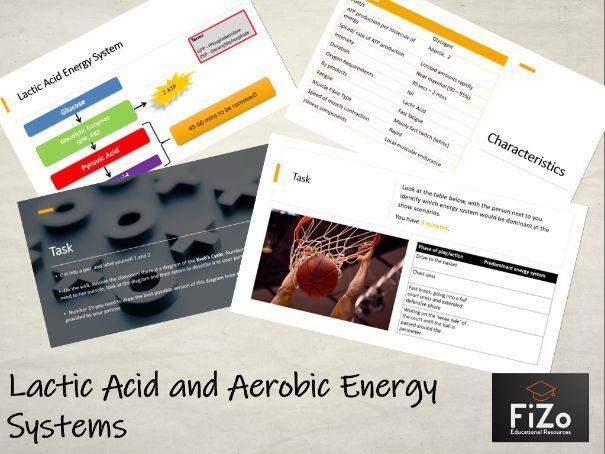 BTEC Sport L3 - Lactic Acid / Aerobic Energy system