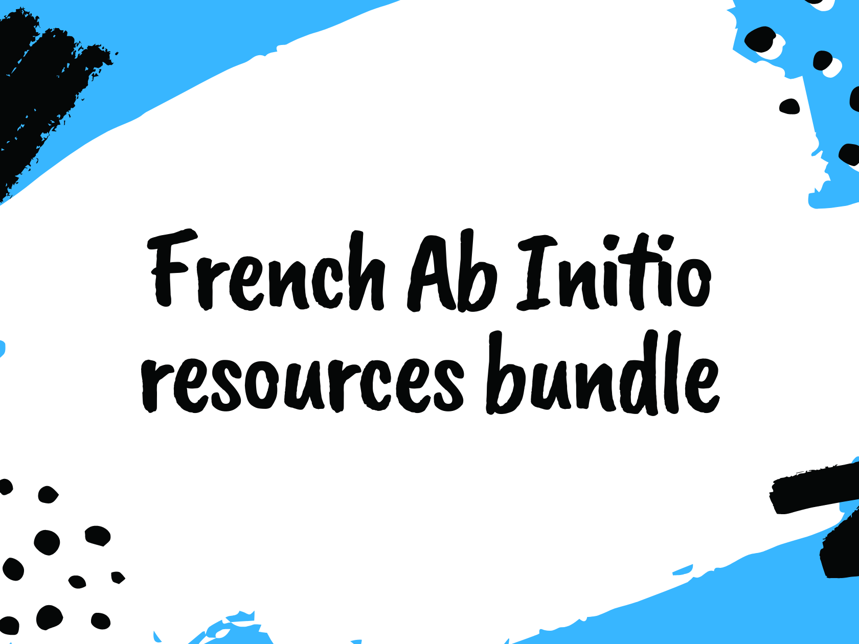 IB French Ab Initio Scheme of Work and resources