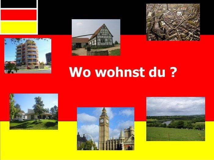Where do you live/ Wo wohnst du