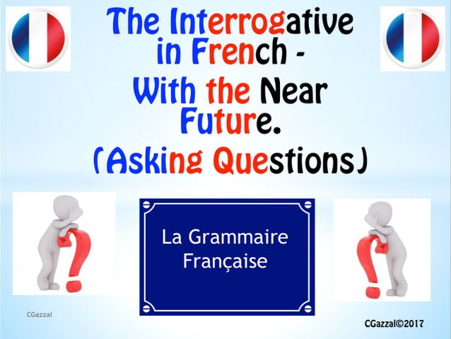 A Complete Guide to the Interrogative – in the Near Future Tense.