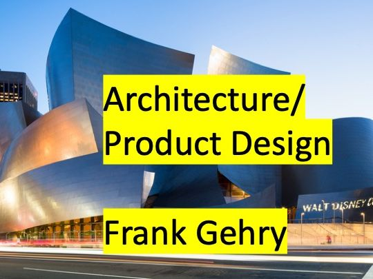 Frank Gehry & Form - Graded Outstanding L2 of 2 - Model Making