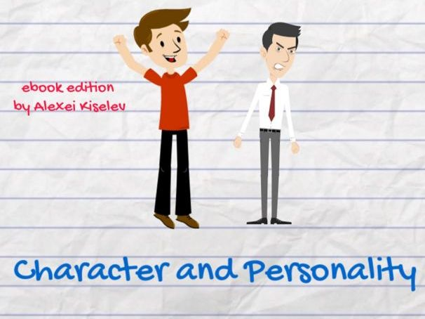 """Describe Your Character and Personality in English"" Ebook"