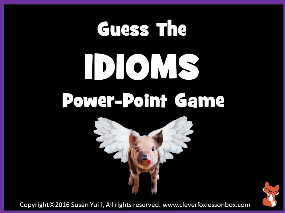 Idioms - What Idiom Is This?