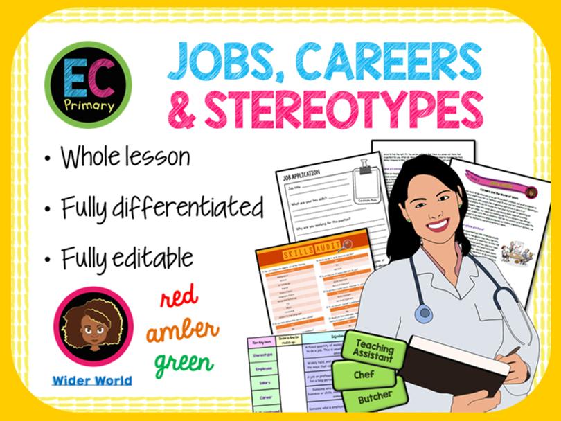 Careers, Diversity + Stereotypes
