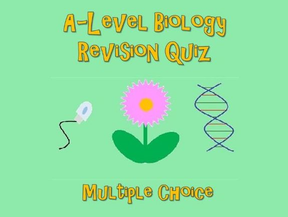 A-Level Biology Revision Quiz