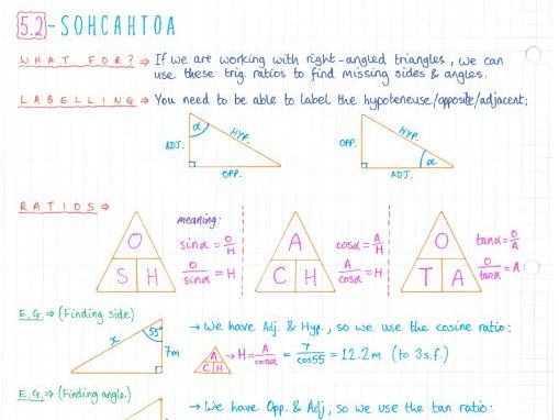 IB Maths SL - Complete Notes by jwmcrobert | Teaching Resources