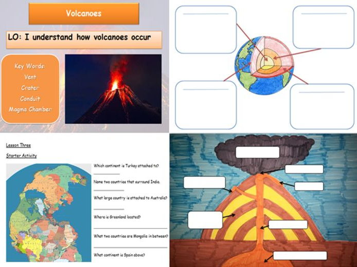Volcano and Earthquake Full Scheme of Work