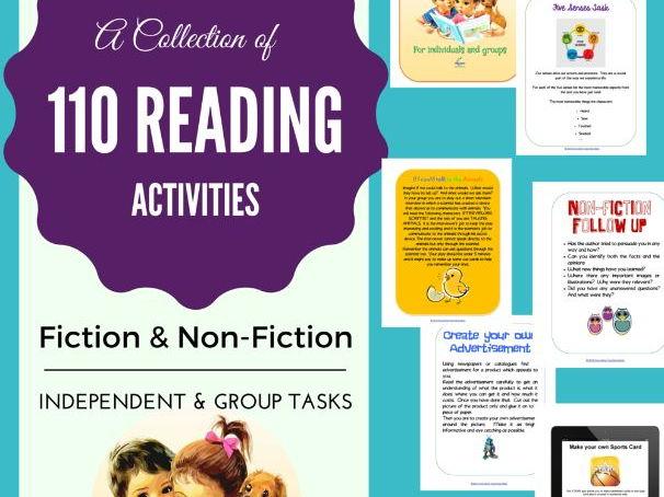 110 Reading Activities
