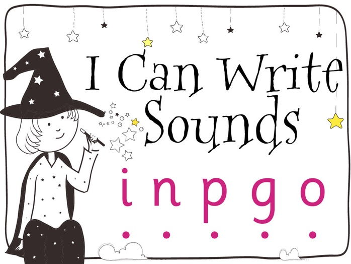 Magic Sounds Phonics: Set 2: i n p g o