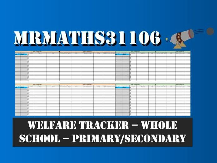 Welfare, Pastoral and Remote Learning Pupil Tracker - January 2021 Lockdown