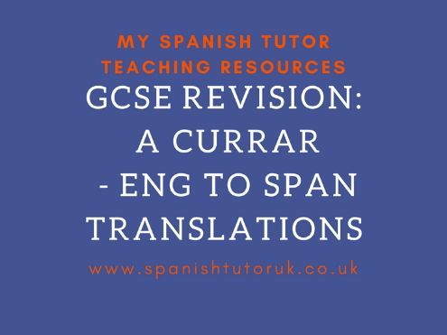 El Trabajo translations English to Spanish