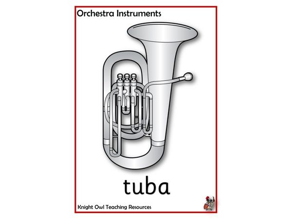 Orchestra Instruments Posters