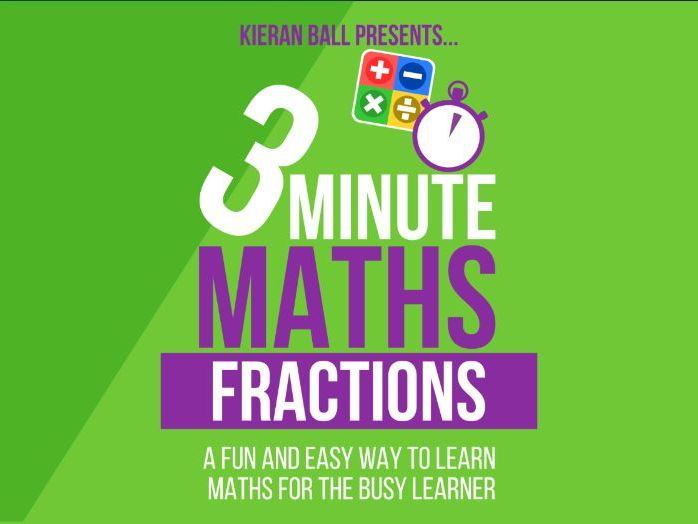 Fractions | 3 Minute Maths - Fractions