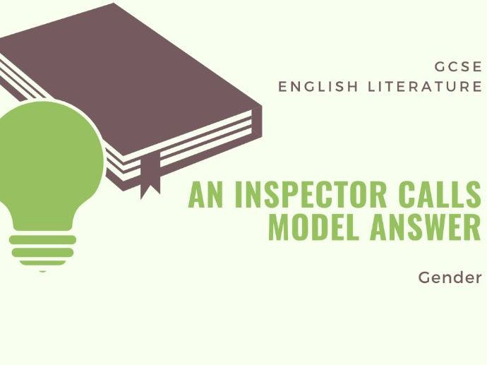 Model Answer: Gender in 'An Inspector Calls'