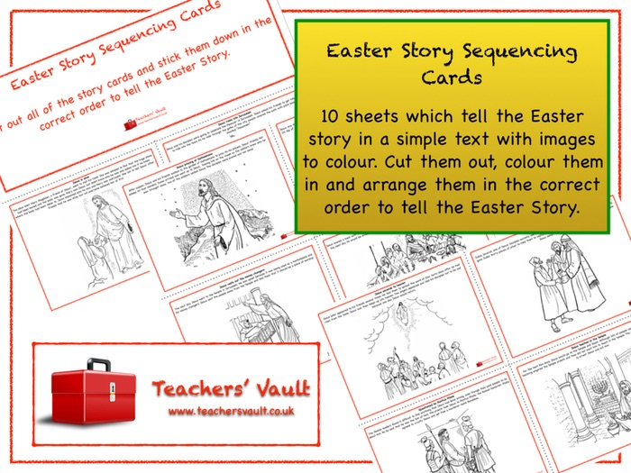 Easter Symbols And Easter Story By Manuelaw7130 Teaching Resources