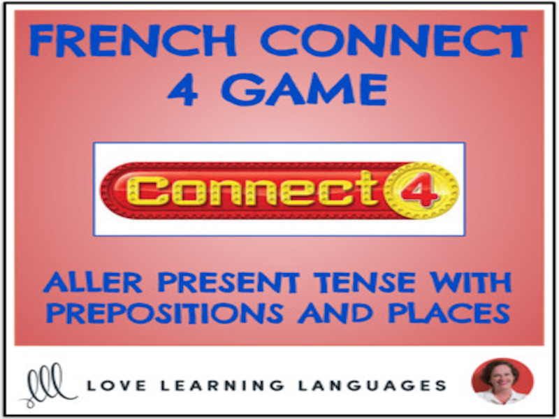 French Connect 4 Game - Aller with Places