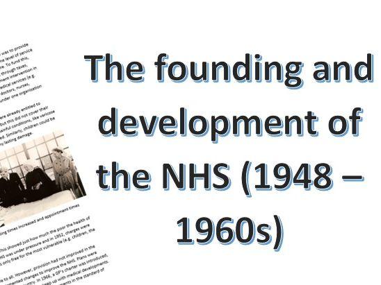 NHS Information Sheet (1948-1960s)