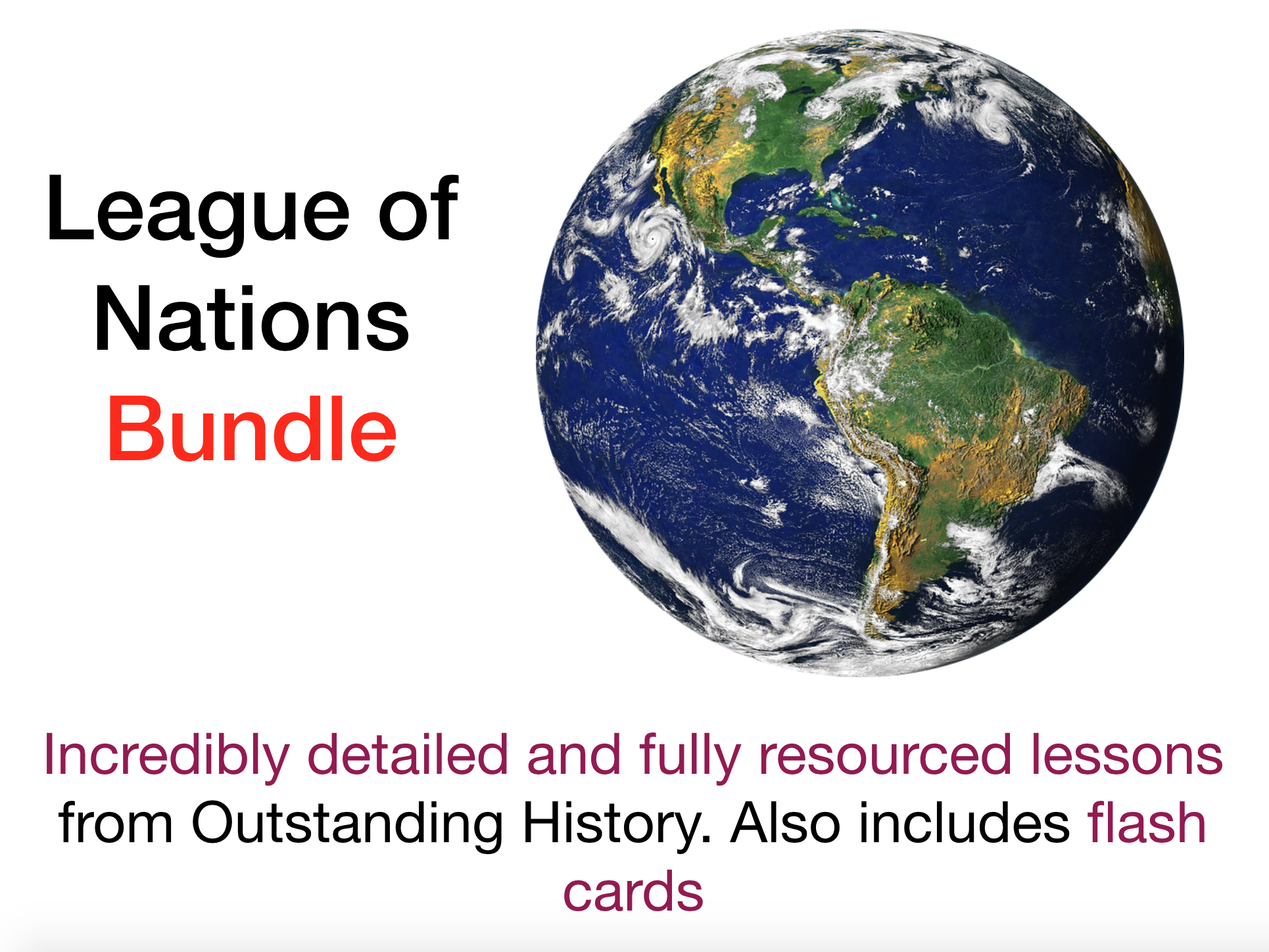 League of Nations Bundle - Outstanding Fully Resourced Lessons