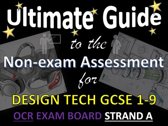 Ultimate Guide to GCSE DT OCR NEA Contextual Themes and Strand 1 for teachers