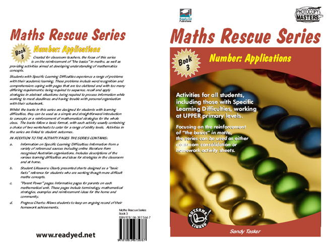 Maths Rescue 3 – Number: Applications (Australian E-book for students at risk)