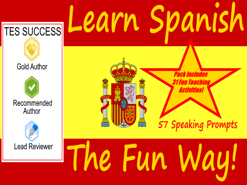 57 Spanish Setting Cards For Conversation Practice + 31 Fun Teaching Activities For These Cards