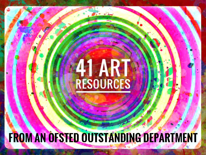 Art. Complete Art Resource Bundle for 2018 - 19. 41 files.