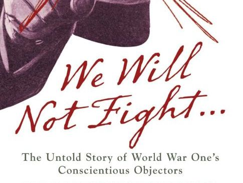 WWI Creative writing task about conscientious objectors