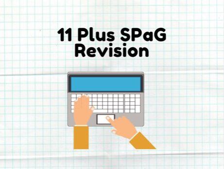 11 Plus SPaG Revision
