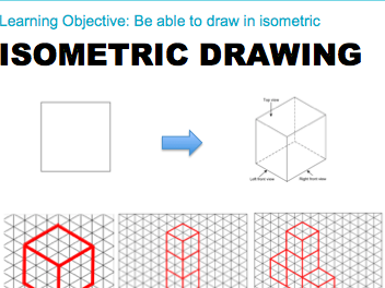 Isometric Drawing Lesson