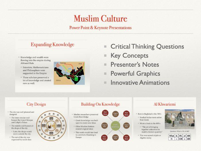 Muslim Culture 600-1700 AD History presentation