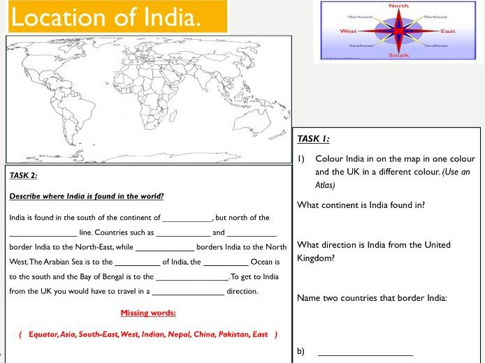Describing a location - Geography