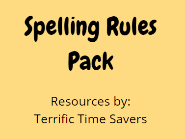 Spelling Rules - All year groups