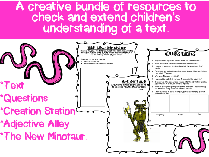 Myths: Comprehension Activities