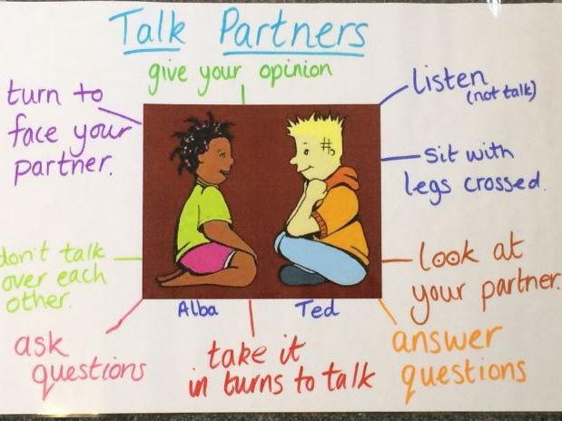 Talk Partners Poster
